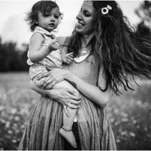 Mommy and me in the flower field. Children and Family photographer Jacksonville Florida.
