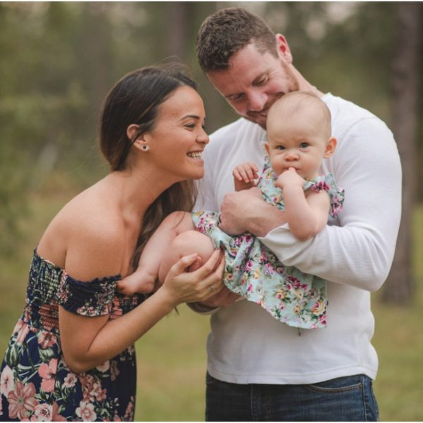 That little girl who lights up mom's and dad's heart | family photographer Jacksonville